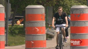 Beaconsfield bike lane causes stir